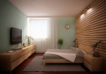 3d visualization bedroom